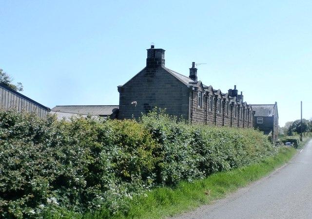 Houses at Preston Mains