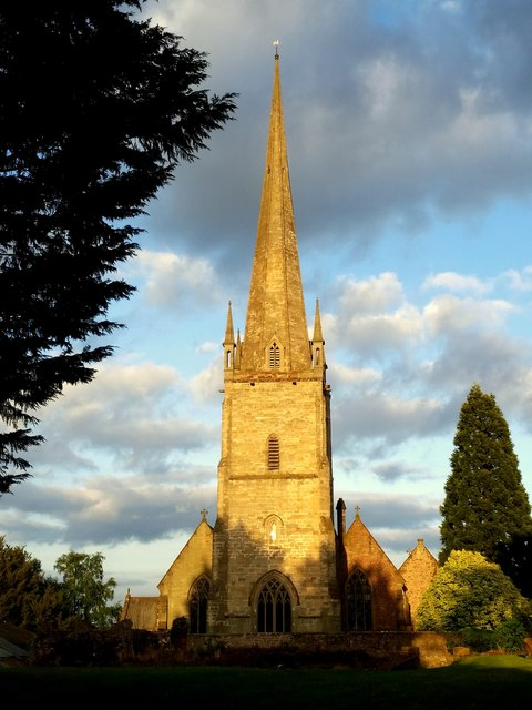 St. Mary's church, Ross-on-Wye
