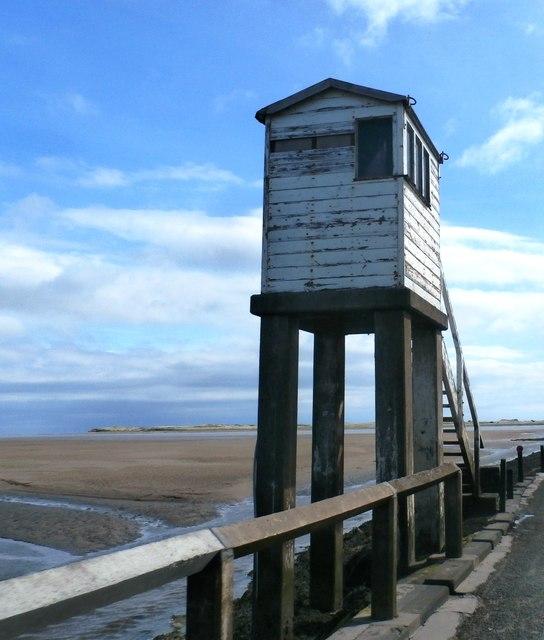 Refuge Box - Lindisfarne Causeway