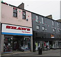 SS9079 : Shaws the Drapers in Bridgend town centre by Jaggery