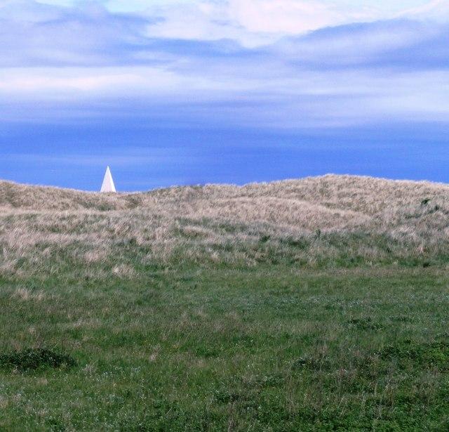 Daymark Pyramid on Emmanuel Head