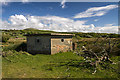 SH5726 : North Wales WWII defences: RAF Llanbedr - pillbox (1) by Mike Searle