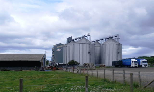 Grain Silos at Belford