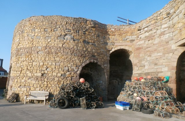 Lobster Pots at Beadnell Lime Kilns