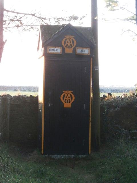 AA Box in Beadnell