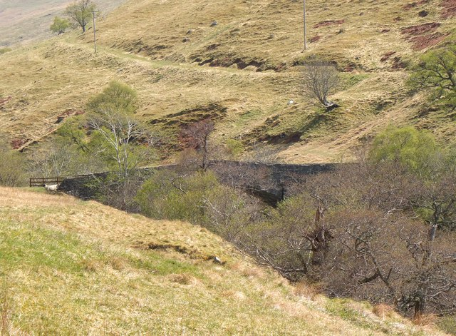 Gaw's Bridge from the west, Glen Tilt