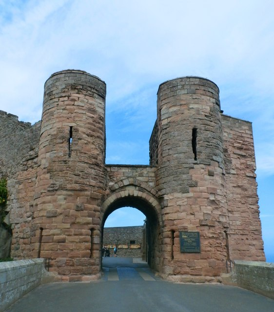 Gatehouse at Bamburgh Castle