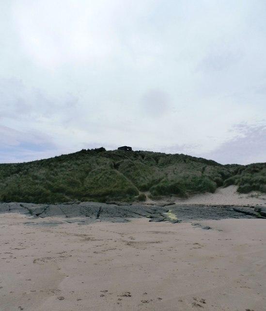 Pillbox on the dunes