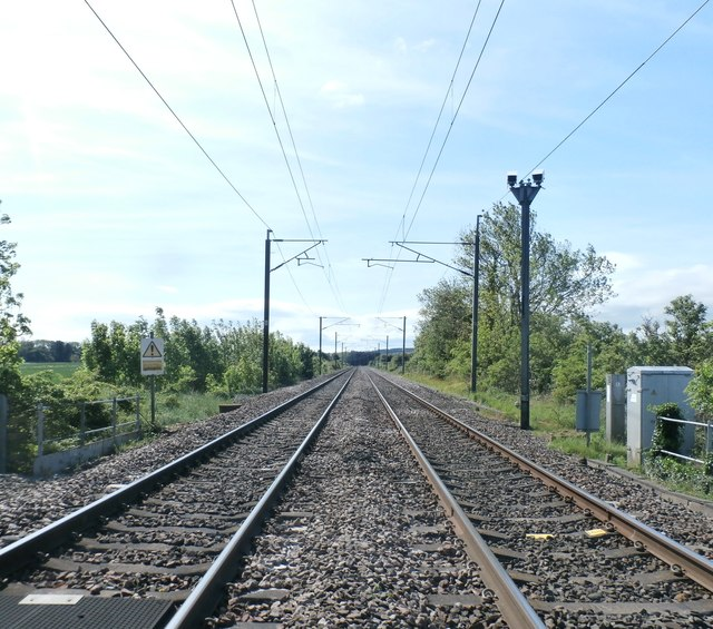 Railway at Smeafield
