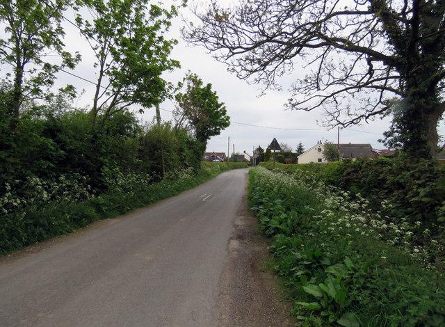 Dadlington Lane towards Stapleton