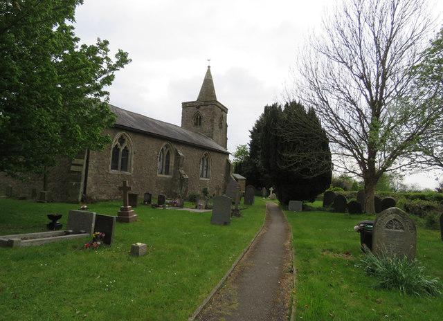 Path to the church