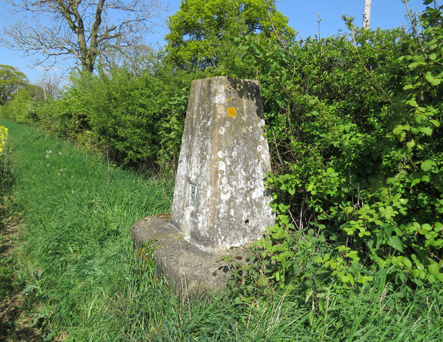 Cloudesley Bush triangulation pillar