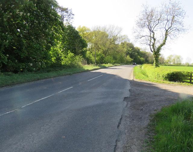 Coal Pit Lane towards Cloudesley Bush