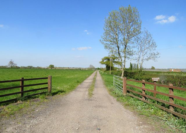 Norwood Farm driveway