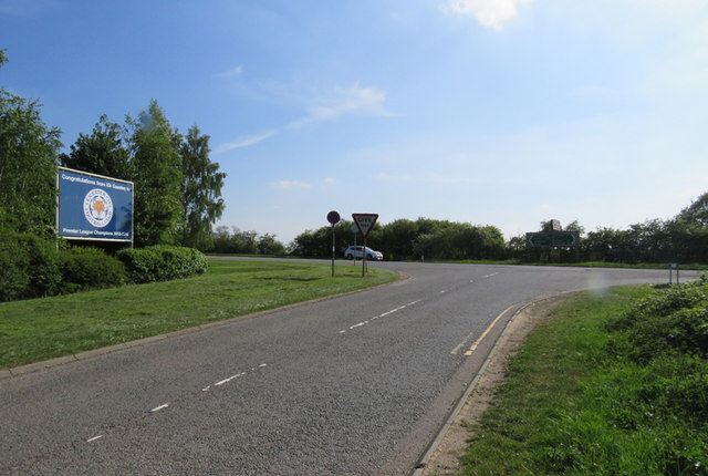 Mere Lane/Watling Street junction near to Cross in Hand