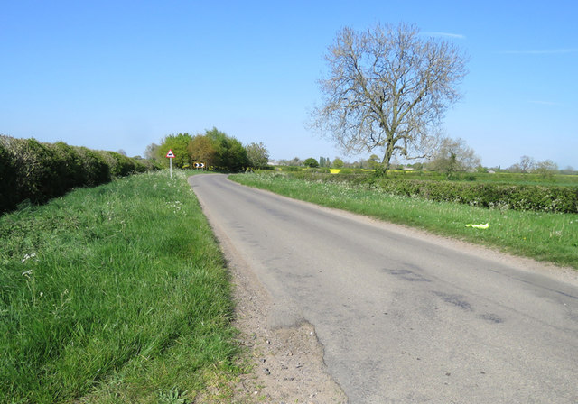Ullesthorpe Road towards Gilmorton