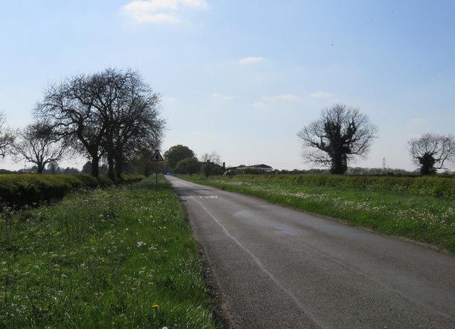 Ullesthorpe Road westwards