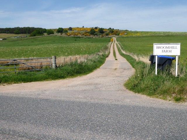 Access to Broomhill Farm