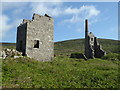 SW4236 : Engine houses Carn Galver by Chris Allen