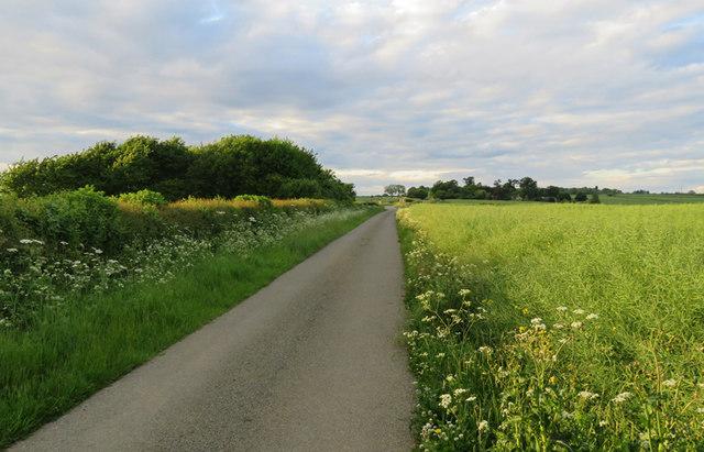 Woodfold Lane northwards