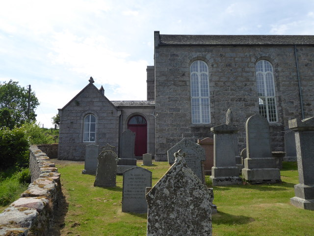 South end of Tough Kirk, and Vestry