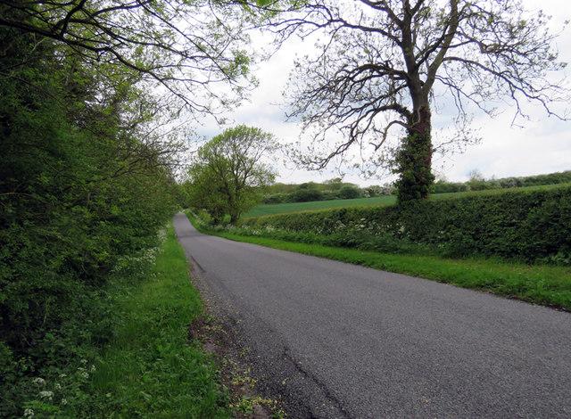 Braunston Road towards Knossington