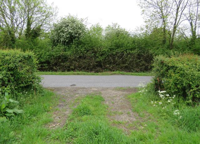 Field entrance on Braunston Road