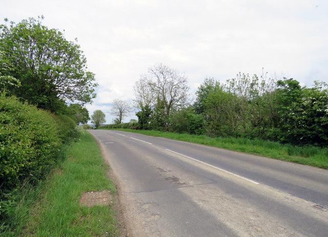 Braunston Road towards Oakham