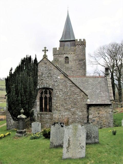 Church of St. Curig, Llangurig