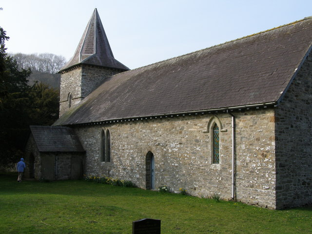 St. Curigs church (in the fields)