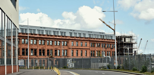 Former Harland & Wolff offices, Belfast - June 2017(3)