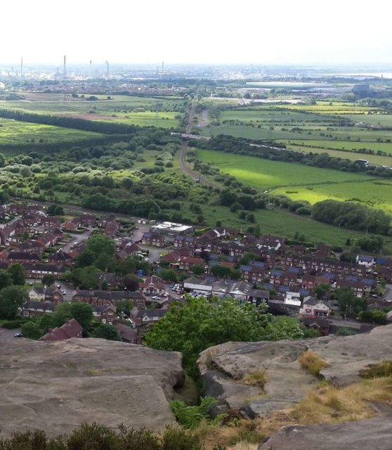 The Edge of Helsby Hill
