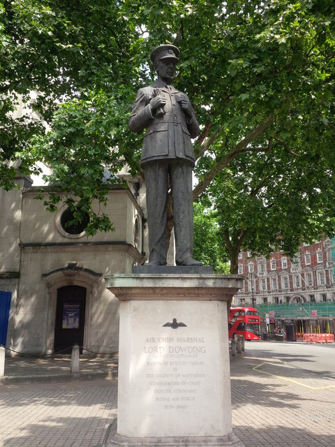 Statue of Lord Dowding