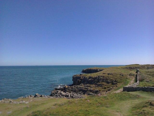 Coastal Path at Porth Helaeth, Moelfre