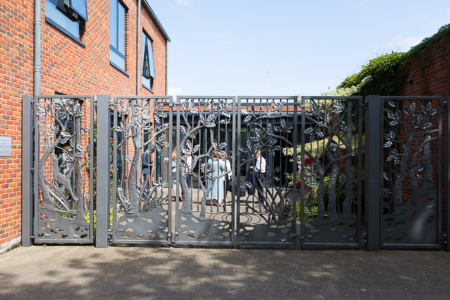 Ornamental Gates of Ringwood Gateway