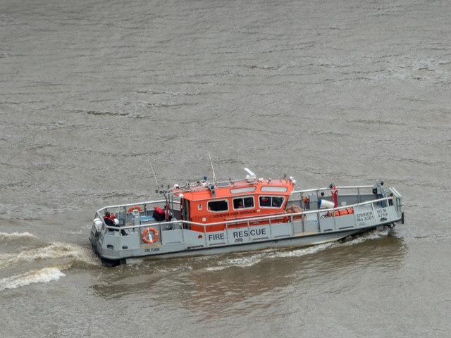 Fire Rescue Boat, London