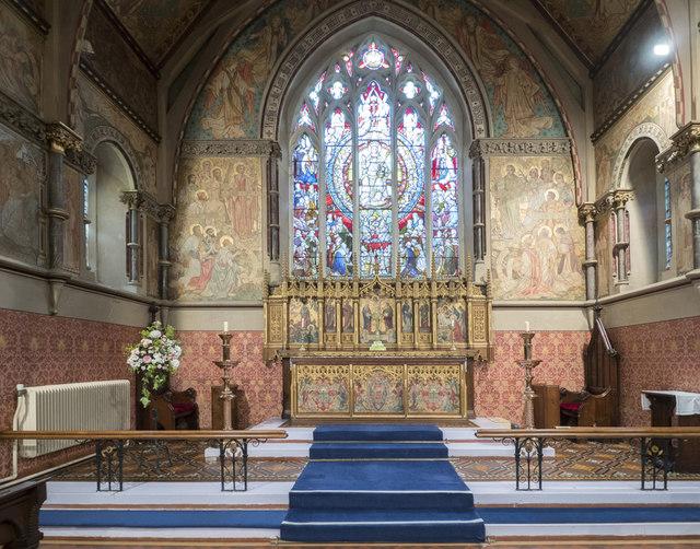 St Mary, Plaistow - Chancel