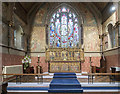 TQ4070 : St Mary, Plaistow - Chancel by John Salmon