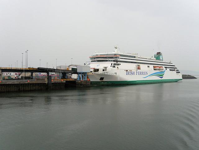 Ro-Ro Ferry Terminal at Dublin