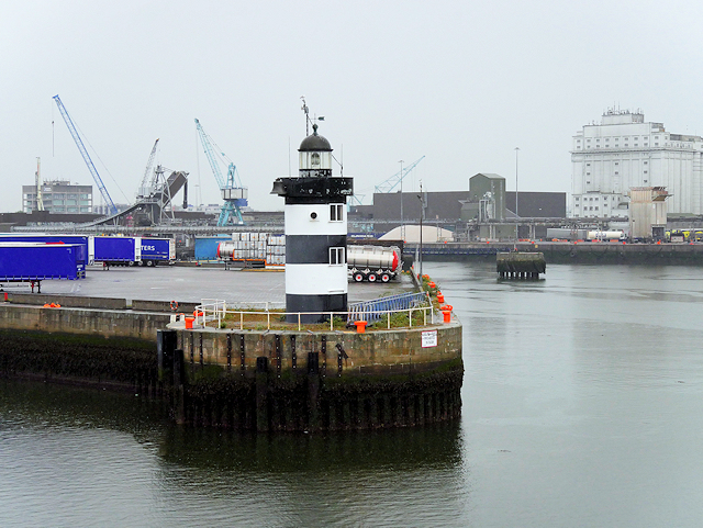 Port of Dublin, North Wall Quay Lighthouse