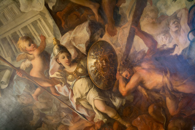 Painted Hall, Royal Naval College,, Greenwich