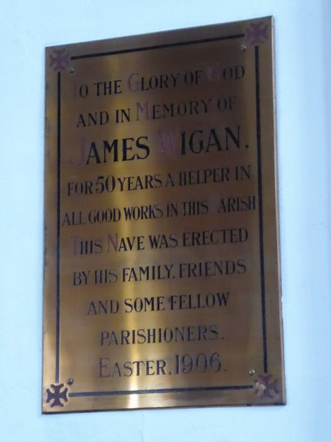 St Mary the Virgin, Mortlake: memorial (c)