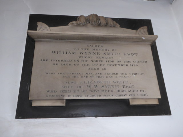St Mary the Virgin, Mortlake: memorial (e)