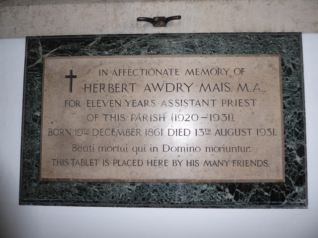 St Mary the Virgin, Mortlake: memorial (j)