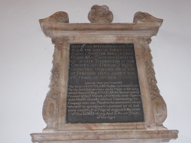 St Mary the Virgin, Mortlake: memorial (l)