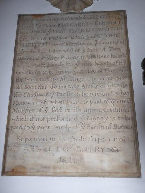 Inside St Mary the Virgin, Mortlake (7)