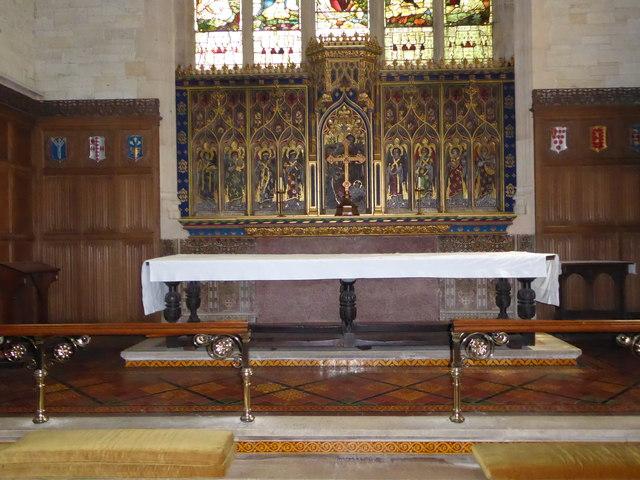 Inside St Mary the Virgin, Mortlake (16)