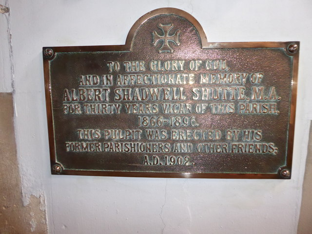 St Mary the Virgin, Mortlake: memorial (o)