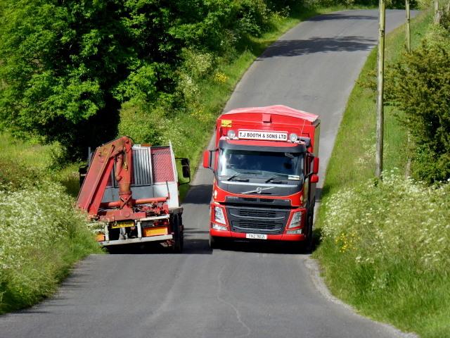 A narrow road, Derrymeen