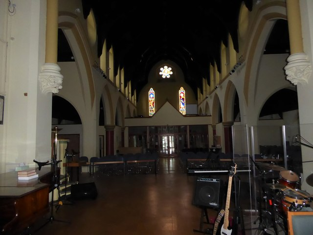Inside Holy Trinity, Richmond (iii)